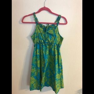 The Children's Place Green Turquoise  Dress 12